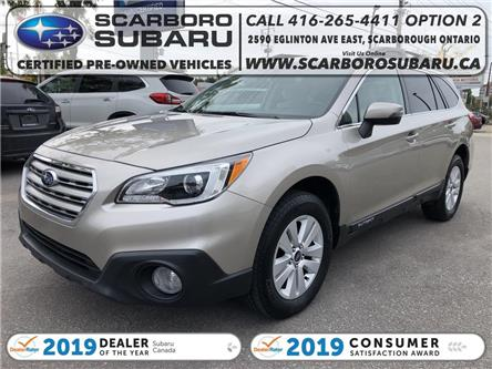 2016 Subaru Outback  (Stk: G3211632) in Scarborough - Image 1 of 19