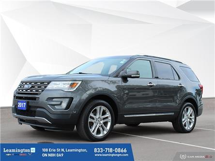 2017 Ford Explorer Limited (Stk: 21-567A) in Leamington - Image 1 of 21