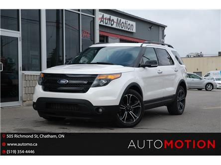 2013 Ford Explorer Sport (Stk: 211704) in Chatham - Image 1 of 25