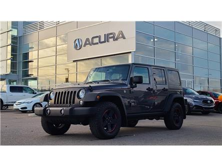 2017 Jeep Wrangler Unlimited Sport (Stk: A4588) in Saskatoon - Image 1 of 20