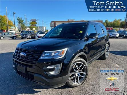 2017 Ford Explorer Sport (Stk: 210769AA) in Midland - Image 1 of 18