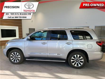 2018 Toyota Sequoia Limited (Stk: 160767) in Brandon - Image 1 of 29