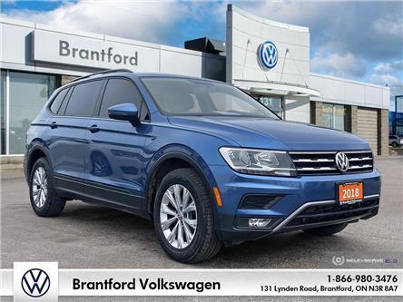 2018 Volkswagen Tiguan Trendline (Stk: TI21029A) in Brantford - Image 1 of 26