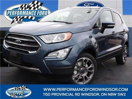 2021 Ford EcoSport Titanium (Stk: EO28749) in Windsor - Image 1 of 17