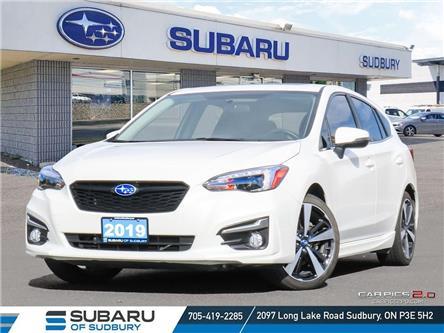 2019 Subaru Impreza Sport-tech (Stk: S21321A) in Sudbury - Image 1 of 29