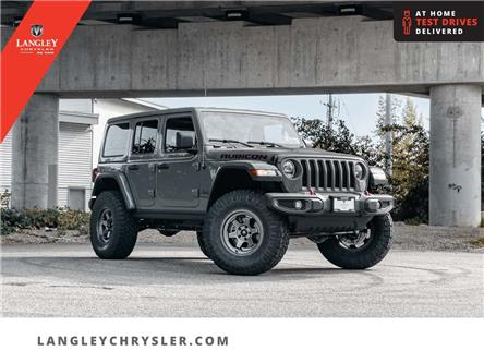 2021 Jeep Wrangler Unlimited Rubicon (Stk: M778691) in Surrey - Image 1 of 23