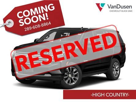 2021 Chevrolet Tahoe High Country (Stk: ZTDC88) in Ajax - Image 1 of 6