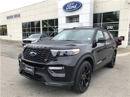 2021 Ford Explorer ST (Stk: 2161081) in Vancouver - Image 1 of 12