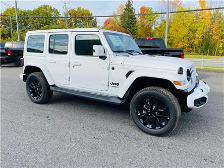 2021 Jeep Wrangler Unlimited Sahara (Stk: B21-487) in Cowansville - Image 1 of 13