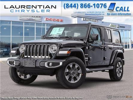 2021 Jeep Wrangler Unlimited Sahara (Stk: 21456) in Greater Sudbury - Image 1 of 23