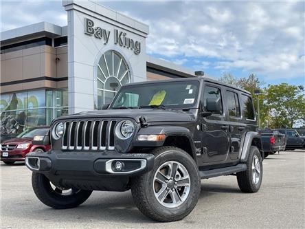 2021 Jeep Wrangler Unlimited Sahara (Stk: 217651) in Hamilton - Image 1 of 15