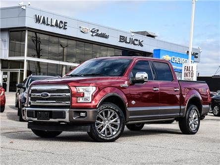 2017 Ford F-150 4WD SuperCrew King Ranch, NAV, LEATHER, SUNROOF (Stk: 451199A) in Milton - Image 1 of 27