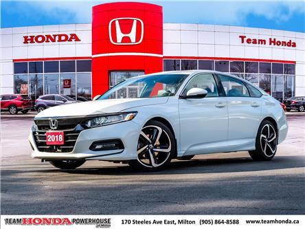 2018 Honda Accord Sport (Stk: 4008) in Milton - Image 1 of 30