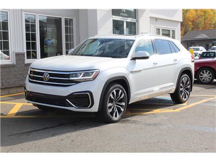 2021 Volkswagen Atlas Cross Sport 3.6 FSI Execline (Stk: 21-242) in Fredericton - Image 1 of 28