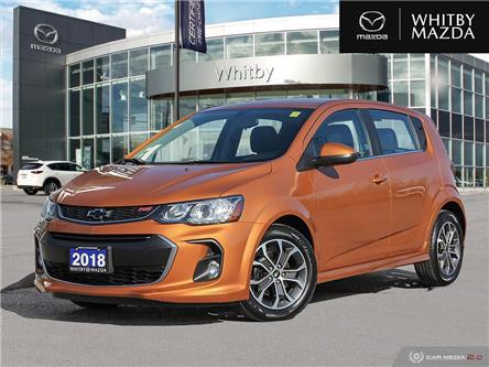 2018 Chevrolet Sonic LT Auto (Stk: 210537A) in Whitby - Image 1 of 27