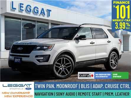 2017 Ford Explorer Sport (Stk: 21H1156A) in Stouffville - Image 1 of 30