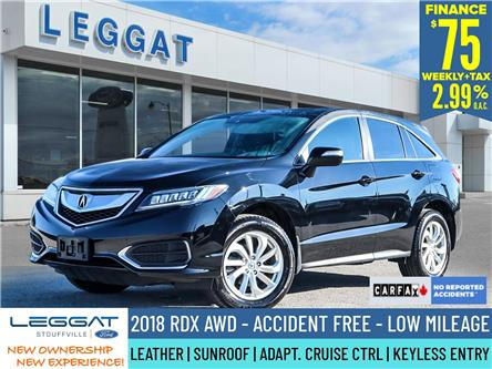 2018 Acura RDX Base (Stk: P105) in Stouffville - Image 1 of 29