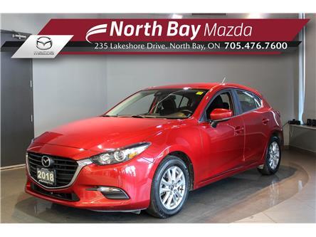 2018 Mazda Mazda3 Sport GS (Stk: 2149A) in North Bay - Image 1 of 24