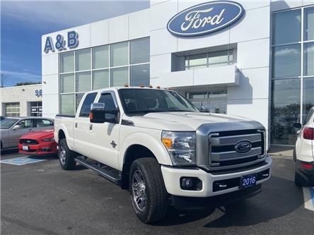 2016 Ford F-350 Lariat (Stk: A6130A) in Perth - Image 1 of 19