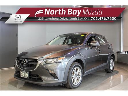 2019 Mazda CX-3 GS (Stk: U6848) in North Bay - Image 1 of 21