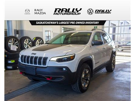 2019 Jeep Cherokee Trailhawk (Stk: V1600) in Prince Albert - Image 1 of 13