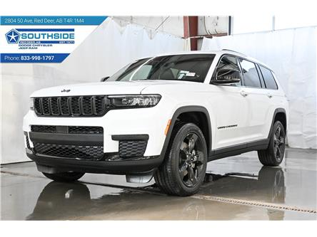 2021 Jeep Grand Cherokee L Laredo (Stk: GC2177) in Red Deer - Image 1 of 28