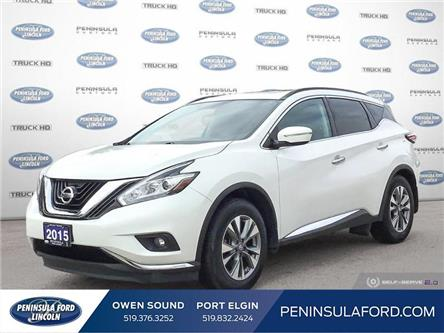 2015 Nissan Murano SV (Stk: 21BR34A) in Owen Sound - Image 1 of 25