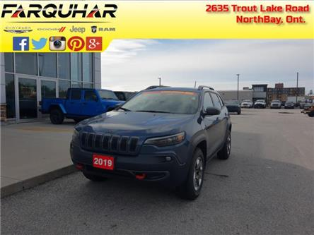 2019 Jeep Cherokee Trailhawk (Stk: 21295A) in North Bay - Image 1 of 30
