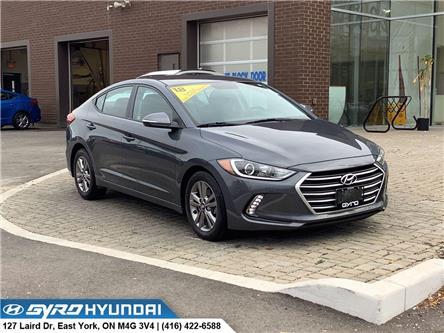 2018 Hyundai Elantra GL (Stk: H6775A) in Toronto - Image 1 of 15