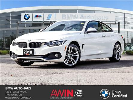 2018 BMW 430i xDrive (Stk: P10952) in Thornhill - Image 1 of 29