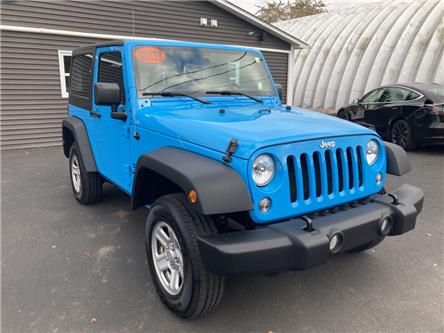 2017 Jeep Wrangler Sport (Stk: -) in Sussex - Image 1 of 21