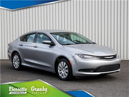 2016 Chrysler 200 LX (Stk: 21-232A) in Cowansville - Image 1 of 28