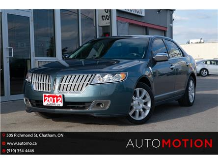 2012 Lincoln MKZ Base (Stk: 211911) in Chatham - Image 1 of 22