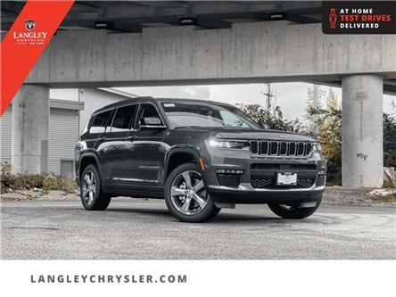2021 Jeep Grand Cherokee L Limited (Stk: M184724) in Surrey - Image 1 of 25