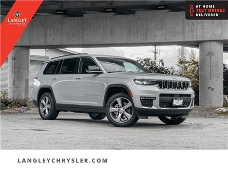 2021 Jeep Grand Cherokee L Limited (Stk: M111022) in Surrey - Image 1 of 24