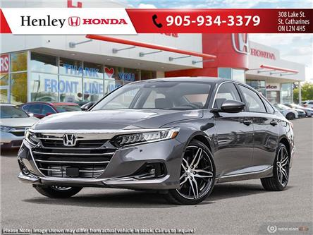 2021 Honda Accord Touring 1.5T (Stk: H19898) in St. Catharines - Image 1 of 23