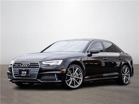 2018 Audi A4 2.0T Progressiv (Stk: C8937) in Vaughan - Image 1 of 23