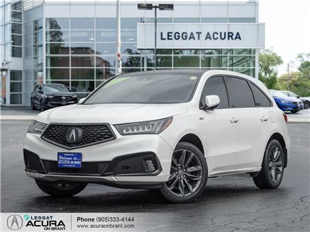 2019 Acura MDX A-Spec (Stk: 22071A) in Burlington - Image 1 of 26