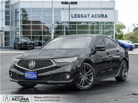 2018 Acura TLX Elite A-Spec (Stk: 4563) in Burlington - Image 1 of 26