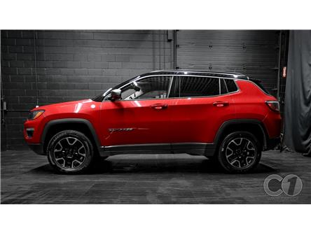 2019 Jeep Compass Trailhawk (Stk: CT21-999) in Kingston - Image 1 of 37