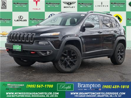 2018 Jeep Cherokee Trailhawk (Stk: 21586A) in Mississauga - Image 1 of 28