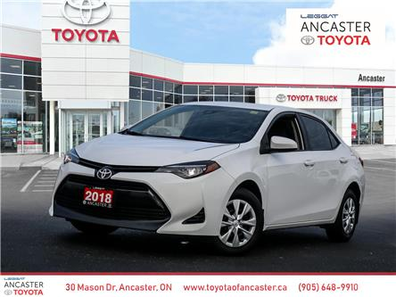 2018 Toyota Corolla CE (Stk: 4237) in Ancaster - Image 1 of 20
