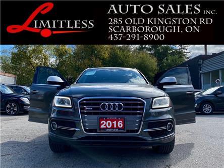 2016 Audi SQ5 3.0T Technik (Stk: 21-082) in Scarborough - Image 1 of 17