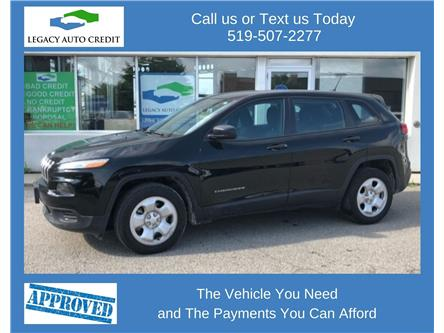 2018 Jeep Cherokee Sport (Stk: 21172) in Guelph - Image 1 of 13