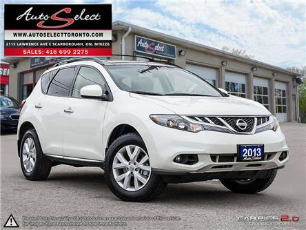 2013 Nissan Murano SV (Stk: 13NM1TS1) in Scarborough - Image 1 of 27