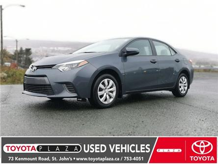 2016 Toyota Corolla LE (Stk: LP5174) in St. Johns - Image 1 of 15