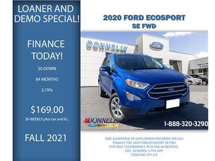 2020 Ford EcoSport SE (Stk: DT1376) in Ottawa - Image 1 of 28