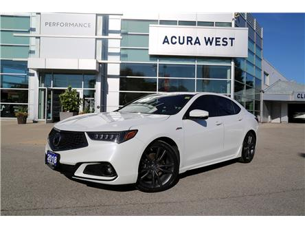 2018 Acura TLX Tech A-Spec (Stk: 7513A) in London - Image 1 of 27