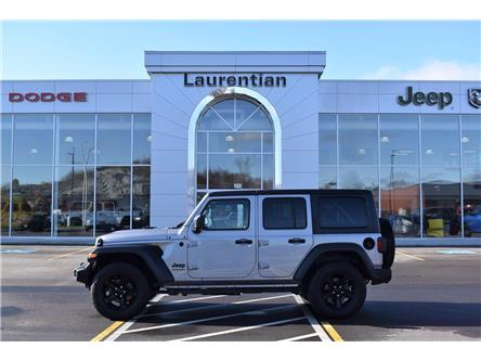 2021 Jeep Wrangler Unlimited Sport (Stk: BC0180) in Greater Sudbury - Image 1 of 24