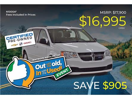 2015 Dodge Grand Caravan SE/SXT (Stk: N1000A) in Watrous - Image 1 of 41